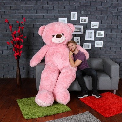 UrbanStar PINK 6 FEET TEDDY BEAR FOR GIFT  - 72 inch