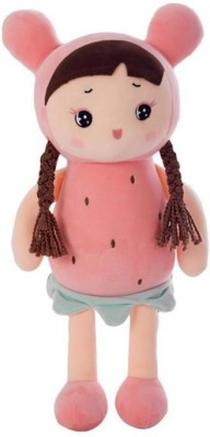 popo Cute Doll With Long Curly Hair Export Quality