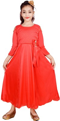Sky Heights Girls Maxi/Full Length Party Dress