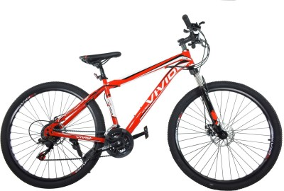 Vivid Stark Maxima Bike For Adults Red 26 T Mountain Cycle
