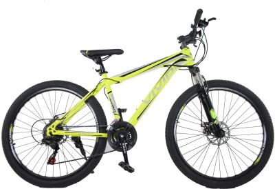 Vivid Stark Maxima Bike For Adults Yellow 27.5 T Mountain Cycle