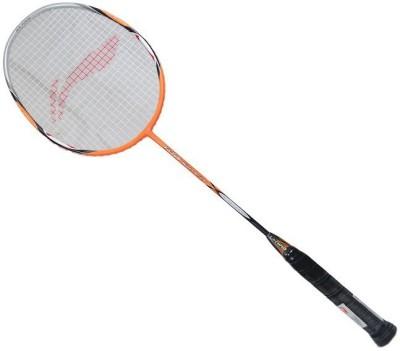 Li-Ning G-Tek 80 Muscle II Multicolor Strung Badminton Racquet