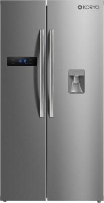 Koryo by Big Bazaar 591 L Frost Free Side by Side Inverter Technology Star Refrigerator