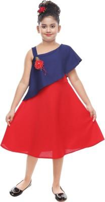 Digimart Girls Midi/Knee Length Casual Dress