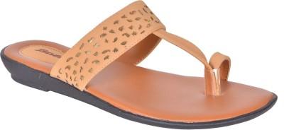 Bata Women Brown Flats