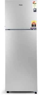 Haier 258 L Frost Free Double Door 3 Star Convertible Refrigerator