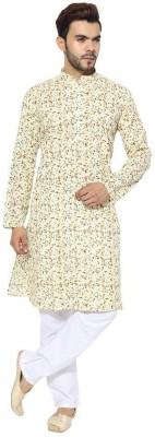 Cafley Men Kurta and Pyjama Set