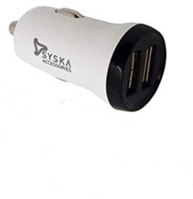 Syska 2.4 Amp Turbo Car Charger