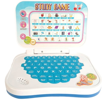 Miss & Chief Mini Laptop with Learning Games