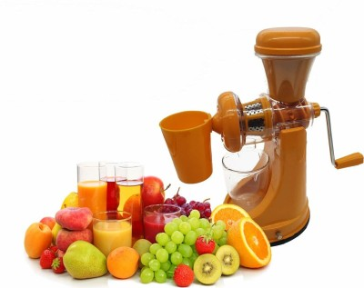 Mantavya Hand Juicer Grinder Fruit And Vegetable Mixer Juicer With Waste Collector 0 W Juicer