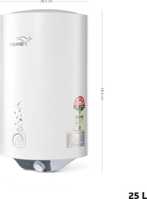 V-Guard 10 L Storage Water Geyser (Victo 10, White)