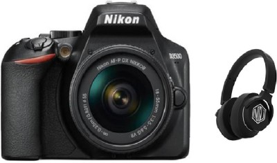 Nikon D3500 DSLR Camera AF-P DX NIKKOR 18-55mm (With Starboy Headphone) DSLR Camera AF-P DX NIKKOR 18-55mm f/3.5-5.6G VR