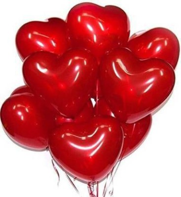 GNGS Solid Red Heart Balloons02 Balloon