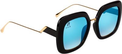 Aislin Over-sized, Retro Square Sunglasses