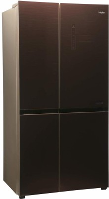 Haier 456 L Frost Free Side by Side Inverter Technology Star Convertible Refrigerator