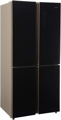 Haier 531 L Frost Free French Door Bottom Mount Inverter Technology Star Convertible Refrigerator