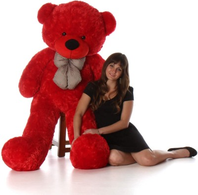 Giftee 5 Feet Premium Quality Teddy Bear, Gift for Someone Special,  - 152 cm