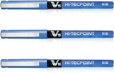 Pilot V5 (Pack of 3) Liquid Ink Rollerball Pen