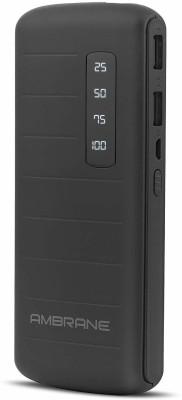 Ambrane 10000 mAh Power Bank (P-1144, P-1144 Black)