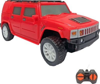 Miss & Chief 1:28 Mini Cross Country Jeep Racing Car with 4 Channel Remote Toy for Kids