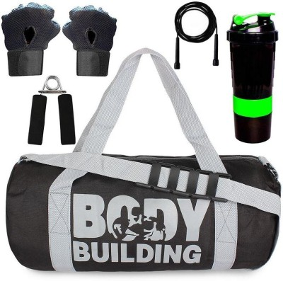 5 O' CLOCK SPORTS Combo of Gym Bag with Shoe Compartment,Gym Gloves 44 Gym & Fitness Kit