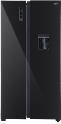MarQ by Flipkart 566 L Frost Free Side by Side Refrigerator  with Glass Door