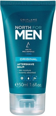 Oriflame NORTH MEN AFTER SHAVING BALM CREAM PACK OF 1 50 ML