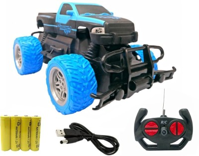 Miss & Chief Big and Mean 1:20 Scale Modified Off-Road Hummer RC Car/Monster Truck