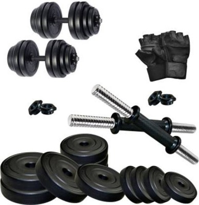 Monika Sports 4kg dumbell with Gym gloves Home Gym Combo