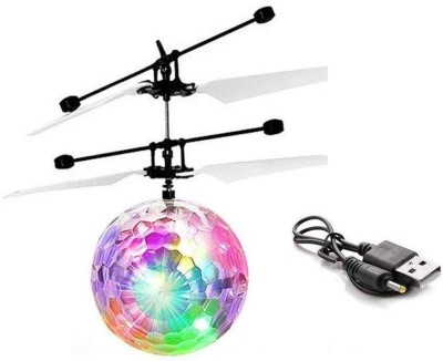 TEMSON Sky Ball, Flying Ball Toy, Helicopter Toy With Motion Sensor & Colorful Light