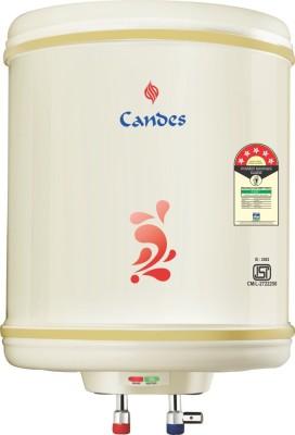 Candes 10 L Storage Water Geyser (10LM, Ivory)