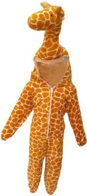 Kaku Fancy Dresses Giraffe Kids Costume Wear