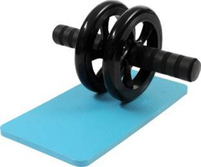 Vinto DUAL PVC WHEEL QUICK AB EXERCISER WITH MAT Ab Exerciser