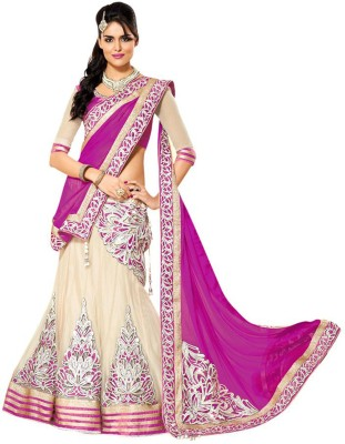 RB Fashion Embroidered Lehenga, Choli and Dupatta Set