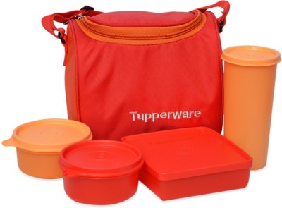 Tupperware Best 4 Containers Lunch Box