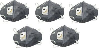 3M Anti-pollution (Pack of 5) 9004GV Mask and Respirator