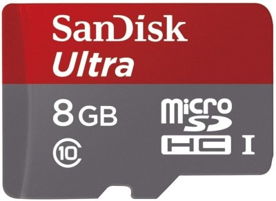 SanDisk Ultra 8 GB MicroSDHC Class 10 48.0 MB/s  Memory Card