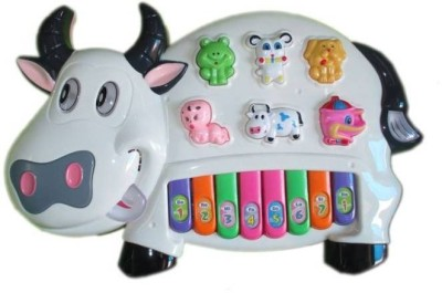 Deep Lights & Music Baby Cow Educational Interactive Piano