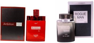 Ramco Ambition and Rogue Man Combo Eau de Parfum  -  200 ml