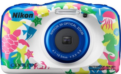 Nikon Coolpix W100 Point and Shoot Camera