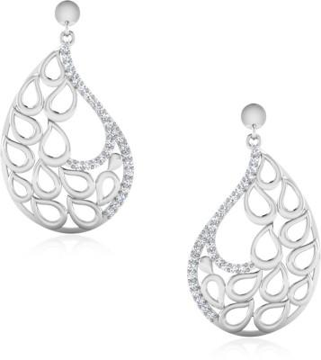IskiUski Maruti White Gold 14kt Diamond Drop Earring