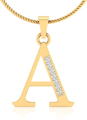 IskiUski A Pendant 14kt Diamond Yellow Gold Pendant