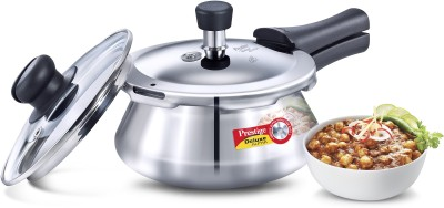 Prestige Deluxe Alpha Handi With Glass Lid 1.5 L Induction Bottom Pressure Cooker