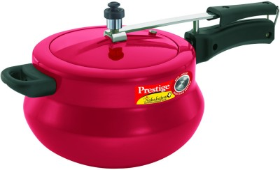 Prestige Nakshatra Plus Red Handi 5 L Induction Bottom Pressure Cooker