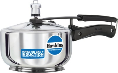 Hawkins Stainless Steel 2 L Induction Bottom Pressure Cooker
