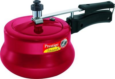 Prestige Nakshatra Plus Red Handi 3 L Pressure Cooker with Induction Bottom