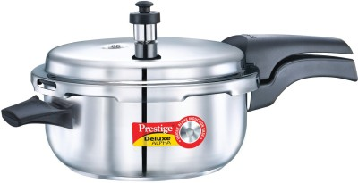 Prestige Deluxe Alpha 5 L Pressure Cooker with Induction Bottom