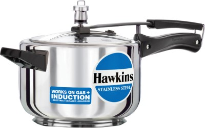 Hawkins Stainless Steel 4 L Induction Bottom Pressure Cooker