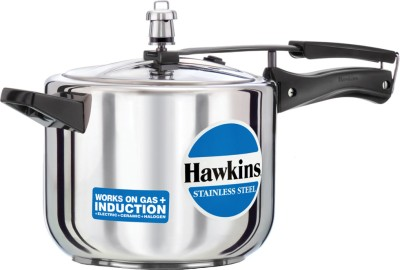 Hawkins Stainless Steel 5 L Induction Bottom Pressure Cooker