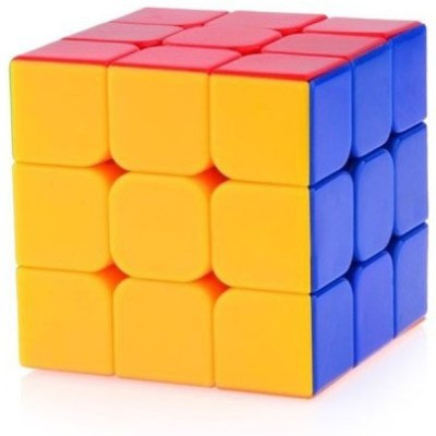 Gift World Rubik's Cube 3x3x3 Puzzle Extra Smooth High Speed Sticker less